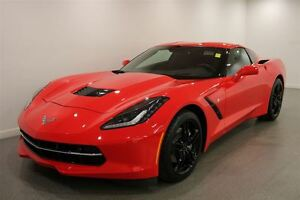 2016 Chevrolet Corvette Stingray|Red|Heated Leather|5843 KMS