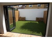 Very spacious brand new 2 double bedroom garden flat , 3 mins Earlsfied Stn,