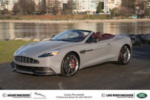 2014 Aston Martin Vanquish Volante Touchtronic Certified Pre-Own