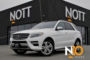 2014 Mercedes-Benz M-Class ML350 BlueTEC 4MATIC, Navi, Pano Roof