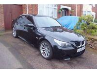 BMW E60 M5 SMG ADAPTIVE/ XENON LIGHT/HUD TV SUNROOF IDRIVE 2006 SPARE OR REPAIR