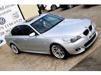 2005 BMW 530D M SPORT AUTO 215BHP 4DR SALOON ( WARRANTY AVAILABLE)
