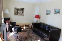 Furnished short-term apartment