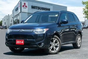 2014 Mitsubishi Outlander LEATHER | ROOF| CLEAN CARPROOF|