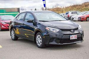 2014 Toyota Corolla LE! LOW KMS! NEW TIRES! $99 BI-WEEKLY