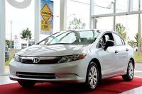 2012 Honda Civic DX MAN. VITRES ÉLECTRIQUE
