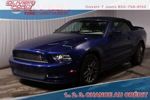 2013 Ford Mustang V6 Premium RWD MAGS CAMÉRA CUIR BAS KM BLUETOO