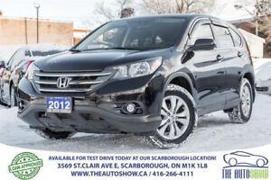 2012 Honda CR-V EX AWD Sunroof RearViewCam Bluetooth