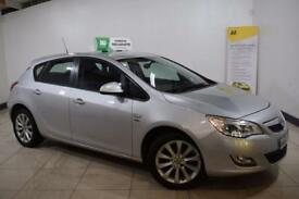 VAUXHALL ASTRA 1.4 ACTIVE 5d 98 BHP (silver) 2012
