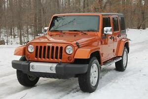2011 Jeep Wrangler Unlimited Sahara | 4x4 | hard top + soft t...