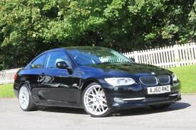 BMW 3 SERIES 2.0 320D SE 2d 181 BHP RAC WARRANTY + BREAKDOWN COVER!! (black) 2011