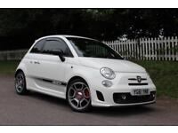ABARTH 500 1.4 ABARTH 3d 135 BHP 5 STAR AWARD WINNING DEALER (white) 2011