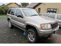 v8 lpg jeep grand cherokee 4.7l mot march 2017