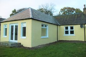 SUPERB OPPORTUNITY TO RENT RURAL TWO BEDROOMED COTTAGE BY ALYTH