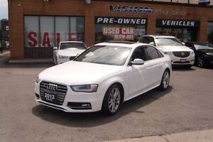 2013 Audi S4 3.0T (S tronic)/LEATHER/SUNROOF/NAVIAGATION