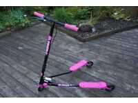 Y Fliker A3 Air - 3 Wheel Scooter - Pink