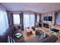 Platinum 3 bed luxury caravan park (Kiln Park) Tenby Wales IRONMAN WEEK
