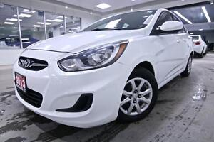 2013 Hyundai Accent GL, ONE OWNER,  POWER WINDOWS, HEATED SEAT,
