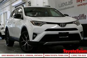 2016 Toyota RAV4 WOW! LOW MILEAGE SINGLE OWNER SE LEATHER & NAV
