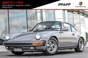 1988 Porsche 911 Carrera Coupe Vehicle is in miles