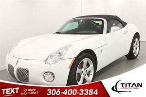 2008 Pontiac Solstice Manual| Local Trade| Low Kms| Convertible