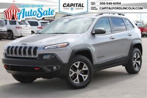2016 Jeep Cherokee Trailhawk**BACK UP CAMERA**  **TOUCHSCREEN**