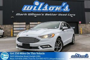 2017 Ford Fusion SE LEATHER! SUNROOF! REAR CAMERA! PUSH BUTTON S