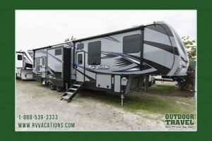 2018 KEYSTONE Fuzion 345 5th Wheel ToyHauler