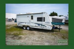 2003 TRAVEL LITE Trail Cruiser C-22 Used Hybrid Travel Trailer