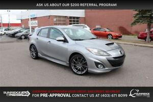 2012 Mazda Mazdaspeed3 MANUAL, CRUISE CONTROL, BLUETOOTH, HEATED