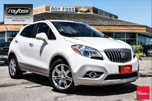 2014 Buick Encore LEATHER. BACKUP CAMERA.
