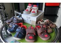 Clarks infant shoes, size 3 & 4