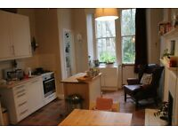 Lovely main door 2 bed and boxroom flat for rent in the sought after area of Trinity (unfurnished)