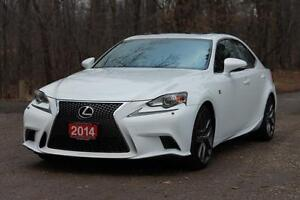 2014 Lexus IS 350 | F-Sport | NAVI | Sunroof + Certified