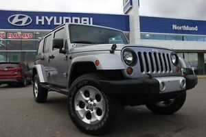 2013 Jeep WRANGLER UNLIMITED Sahara/Brand NEW Tires/Bluetooth/4X