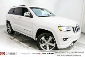 2016 Jeep Grand Cherokee Overland Diesel *Suspensions à air, Gps