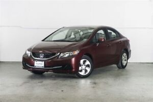 2013 Honda Civic LX (A5) Finance for $47 Weekly OAC