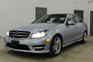 2014 Mercedes-Benz C-Class C300 4MATIC - Nav| Leather| Sunroof|