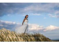 "Romantica ""ballerina style"" wedding dress /prom dress size 10-12"