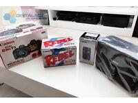 Canon EOS 1200D T5 18.0MP DSLR Camera - Kit 18-55mm + 75-300mm + Gadget