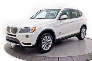 2012 BMW X3 35i**CUIR**PNEUS HIVER**CAMERA**