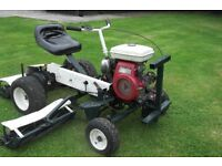 Allen National 3 Gang Cylinder Lawn Mower Tractor Ride-On Lawnmower For Sale Armagh Area