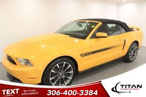 2012 Ford Mustang GT Califorina Edition|Convertible|Yellow Blaze