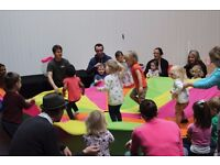 Circus Tots - Parent and Toddler circus class, games and giggles for little one and their adults!