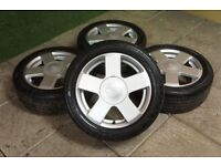 ford fiesta genuine alloys