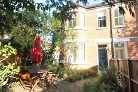 Lovely 2 bed, 2 bath, 3 floor maisonette with private garden, SW London, avail 1 Dec £1550 PCM