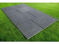 Anthracite Black Porcelain Outdoor Floor Tile 900 x 600mm | 21.6m2 | 20mm Thick | 40 Tiles