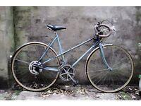 RALEIGH WISP, vintage ladies women's racer racing road bike, 21 inch, 10 speed
