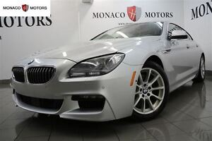 2014 BMW 6 Series 640i XDRIVE AWD GRAN TECH PKG M PKG NAV CAM