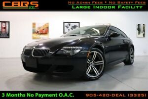 2008 BMW 6 Series |M6 |V10 500hp| Navigation | Paddle Shift| HUD